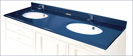 plan vasque double en marbre de synth se. Black Bedroom Furniture Sets. Home Design Ideas